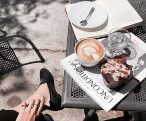 chic, coffee, and drinks image
