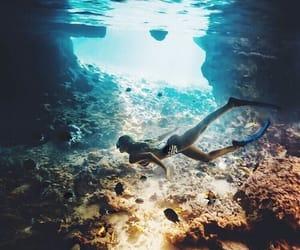 summer, sea, and ocean image