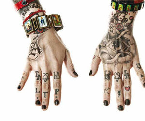 tattoo and kat von d image
