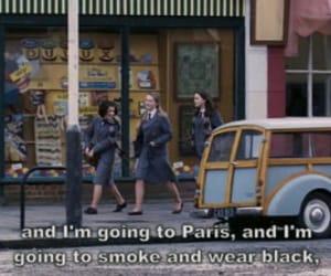 paris, black, and smoke image
