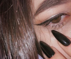 black, crying, and girls image