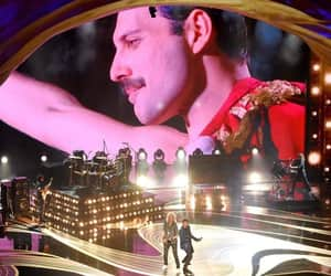 Queen, Freddie Mercury, and oscars image
