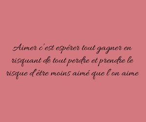 amour, francais, and painful image
