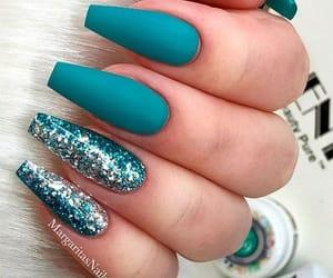 blue, fashion, and glitter image