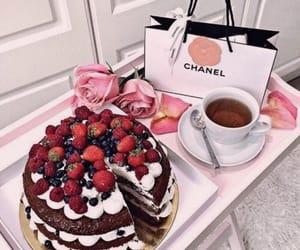 cake, food, and chanel image