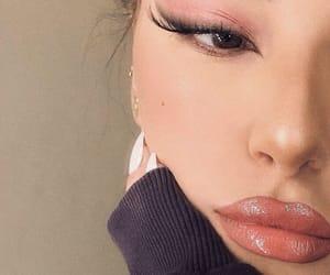 eyeliner, eyeshadow, and look image