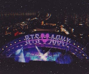 bts, army, and concert image