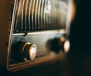 radio and vintage image
