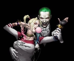 harley quinn, mad love, and puddin image