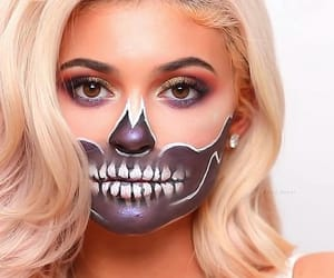 kylie jenner, makeup, and Halloween image