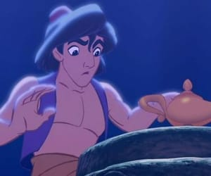 aladdin, animated, and cartoon image