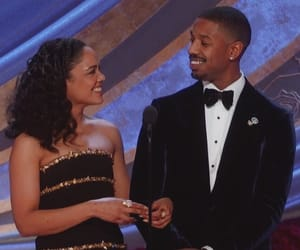 Academy Awards, couple, and creed image