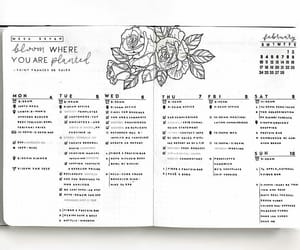 art, calendar, and drawing image