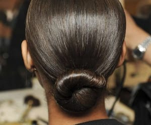 chic, elegant, and hairstyle image
