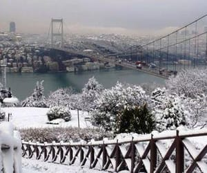 istanbul, تركيا, and snow image