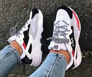 shoes, Fila, and girl image
