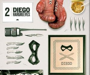 the umbrella academy, diego hargreeves, and aesthetic image