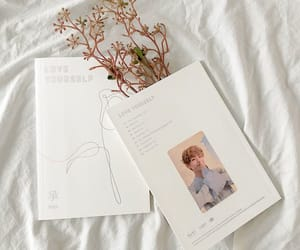 v, bts, and love yourself image