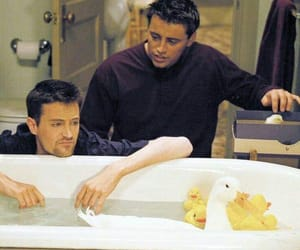 friends, duck, and chandler image
