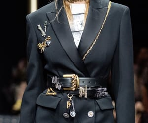 Couture, runway, and Versace image