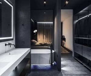 bathroom, dream home, and house image