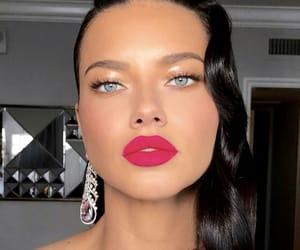 Adriana Lima, makeup, and model image