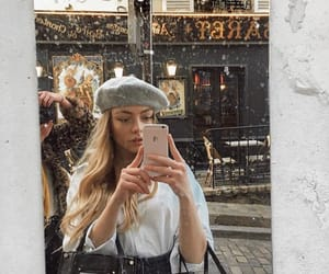 fashion, french, and girl image