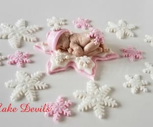 cake topper, etsy, and baby shower cake image