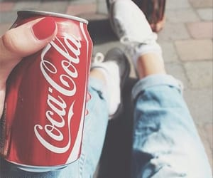 summer, coca cola, and nails image