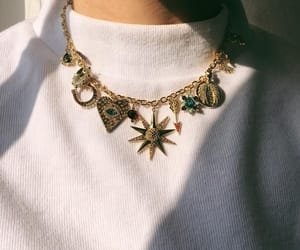 fashion, necklace, and aesthetic image