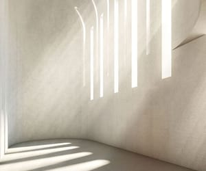 white, light, and architecture image