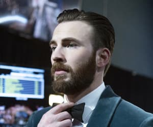 chris evans, handsome, and oscar image