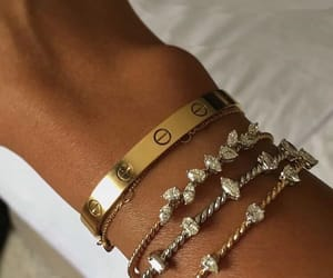 bracelet, cartier, and jewelry image