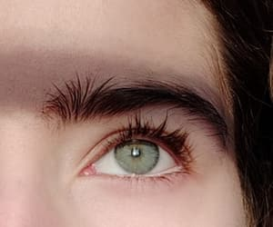 aesthetic, blue, and eyebrows image