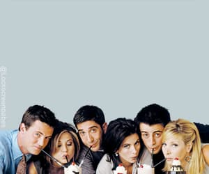 friends, wallpaper, and chandler bing image