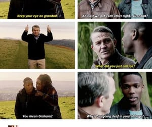doctor who, grandad, and sweet moment image