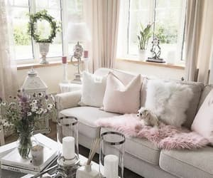 decoration, inspiration, and living room image