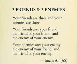 3 friends, friend enemy, and & 3 enemies image