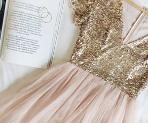 book, Prom, and dress image