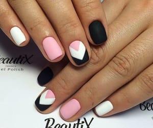 nails, art, and beautiful image
