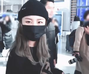 bow, gif, and wheein image
