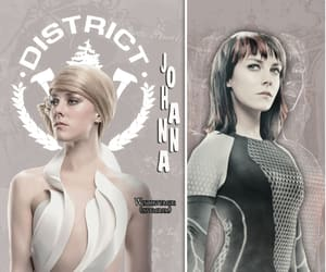 hunger games and johanna manson image