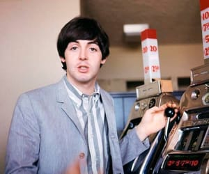 the beatles, 1960s, and Paul McCartney image