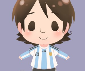 fanart, lionel messi, and football image
