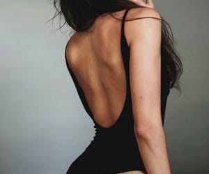 back, longhair, and beautiful image