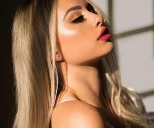 beauty, loira, and blonde image