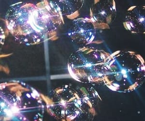 bubbles, aesthetic, and shine image