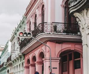 pink, city, and travel image