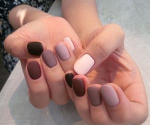 beige, nails, and soft image