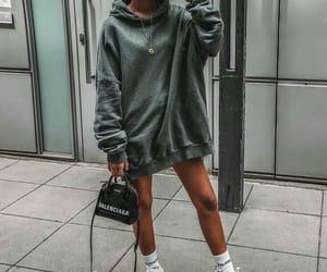 fashion, Balenciaga, and outfit image